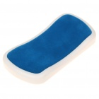 Stylish ABS Wrist Rest - Blue + White