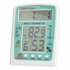 Multi-Function Alarm Clock + Thermometer + Hygrometer (1 x AA)