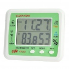 "Multi-Function 3.9"" LCD Alarm Clock + Thermometer + Hygrometer (1 x AA)"