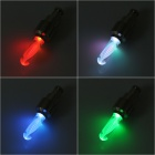 Roue pneu Valve Cap Colorful LED Flash pour voiture / vélo / motorbicycle - Paire (3 x AG10)