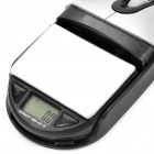 "2-in-1 USB 800DPI Optical Mouse + 0.8"" LCD Digital Scale (2 x AAA)"