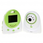 "2.4GHz Wireless 300KP Night Vision Security Surveillance Camera w/ 2.4"" LCD Handheld Baby Monitor"