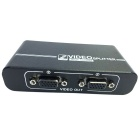 Compact 350MHz 1-In 2-Out VGA Video Splitter w/ USB Port (1920x1440 Max)