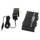 Compact 350MHz 1-In 2-Out VGA Video Splitter w/ USB Port
