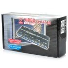 Компактный 350MHz 1-В 8-Out VGA Video Splitter (1920x1440 Max)