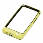 Protective PVC Border Bumper Frame with Screen Protector for Samsung i9100 Galaxy S2 - Yellow