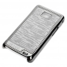 Stylish Protective Shinning Plated Back Case for Samsung i9100 Galaxy S2 - Grey