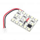 0.98W 8000K 108LM 15-3528 SMD White Light Blub w/ T10/BA9S/Adjustable 28~40mm Connectors (DC12~14V)