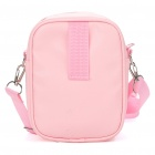 Cute Minnie Portable Bag for Daily Use PU + Nylon - Pink
