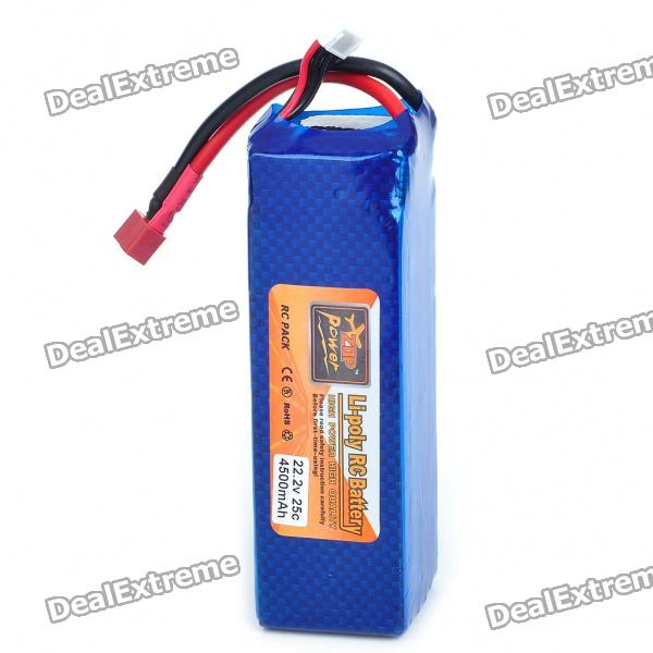 22.2V 25C 4500mAh Replacement Li-Poly Battery Pack for 550/600 R/C Helicopter от DX.com INT