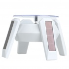 Solar/1 x AA Powered Rotating Display Turn Table Plate - White