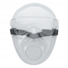 Outdoor Protective Transparent Plastic Mask with Elastic Strap