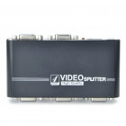 Compact 350MHz 1-In 4-Out VGA Video Splitter w/ USB Port (1920x1440 Max)