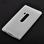 Stylish Protective PVC Back Case for Nokia N9 - Translucent