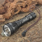 UniqueFire UF-2190 XM-LT6 3-Mode 1000-Lumen White LED Flashlight w/ Strap - Black (1 x 18650)