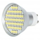 GU10 4.5W 6500K 240-Lumen 60x3528 SMD LED White Light Bulb (85~265V)