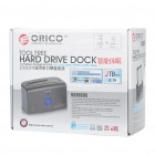"ORICO 9618SUS 2.5"" & 3.5"" SATA HDD Docking station with USB2.0/eSATA - Black"