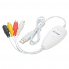 USB 2.0 Video & Audio Grabber Capture for Apple Mac OS - White