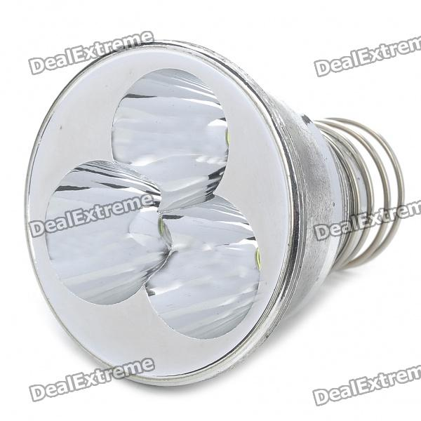 3-LED 1-Mode T6 3-LED Lamp Cap (9-22V)