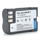 Replacement 1500mAh 7.2V Battery Pack for Olympus C-5060/7070/8080/E-1/E-300 (Actual 1400mAh)