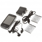 "F603 2.8"" Android 2.2 Touch Screen Dual SIM Quadband TV Smart Phone w/ Wi-Fii + GPS - Black"