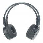 Multi-Function Folding Rechargeable Sports Stereo Headset with FM/SD/TF - Black