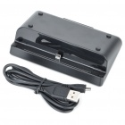 USB Data/Charging Dock Cradle for Blackberry PlayBook - Black
