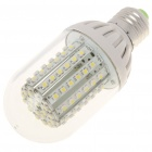 E27 5,5 W 7000K 550-Lumen-LED-90 White Light Bulb (DC 10 ~ 18V)