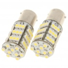 1156 BA15S 3.25W 6500K 216-Lumen 54-3528 SMD LED White Light Bulb (DC 12V/Pair)