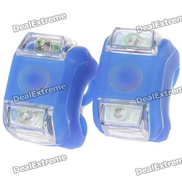 2-led-3-mode-blue-light-silicone-bicycle-safety-lights-2-x-cr2032pair