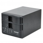 "Orico 1329RUS3-PRO Dual-Bay USB 3.0 3.5"" SATA HDD RAID Enclosure - Black"