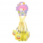 Cute SpongeBob SquarePants Small Bell Cell Phone Straps (10-Pack)