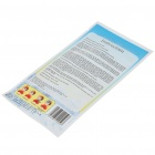 Outdoor First Aid Fever Disposable Cooling Gel Sheets (3-Piece)