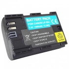 """1600mAh"" LP-E6 Battery for Canon 6D 5D Mark III 5D Mark II 7D 60D"