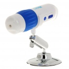 250X 300KP 2.4GHz Wireless Digital Microscope w/ 8 White LEDs/USB Receiver/Mount Holder