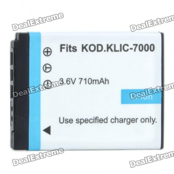 "Replacement Rechargeable 3.6V ""710mAh"" Battery Pack for Kodak EasyShare LS755"