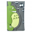 Cute My Neighbor Totoro Style PU Leather Card Holder Wallet with Zipper Coin Purse