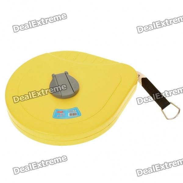 Portable Retractable Glass Fiber Tape Measure Ruler (30 Meters)