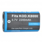 "Replacement Rechargeable 3.7V ""2200mAh"" Battery Pack for Kodak EasyShare Z612 + More"