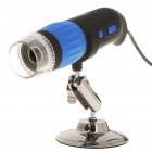 200X 2.0MP USB 2.0 Wired Digital Microscope w/ 8 White LEDs/Mount Holder (131CM-Cable)