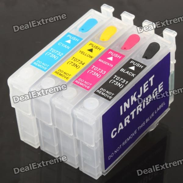 Color Ink Jet Cartridge for Epson T40W / TX120 / TX600FW / T1100 / T20 / T21 / TX110 / TX111 color ink jet cartridge for canon printers 821 820 series