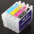  Color Ink Jet Cartridge for Epson T40W / TX120 / TX600FW / T1100 / T20 / T21 / TX110 / TX111