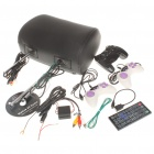 "Car Headrest 7"" LCD DVD Media Player with FM/AV-Out/SD - Black (DC 12V)"