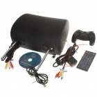 "Car Headrest 7"" LCD DVD Media Player with FM/AV-Out/USB/SD - Black"