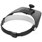 Magnifying Glass Cap with LED (2 x AAA)