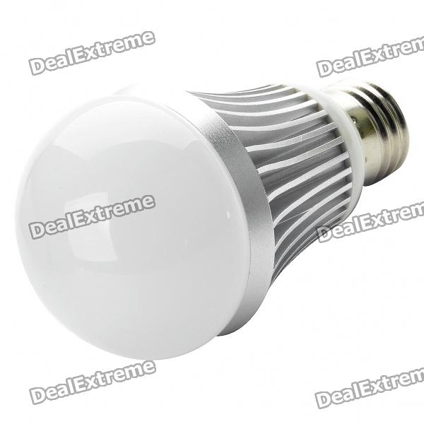 E27 10x0.5W 3500K 360-Lumen 10x3535 SMD LED Warm White Light Bulb (AC 100~265V) e27 2w 100 lumen 3000k 30x3528 smd led warm white light lamp bulb 110v