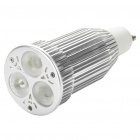 GU10 3x3W 3-LED 310LM 2700-3500K Warm White Light Bulbs (100 ~ 265V)