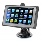 "5.0"" Touch Screen LCD WinCE 6.0 GPS Navigator w/ FM + Internal 4GB Europe Maps - Black"