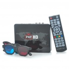 X6II P4P 720P Full HD Network TV Box Multimedia Player w/ LAN / CVBS /R /L /HDMI / USB Host