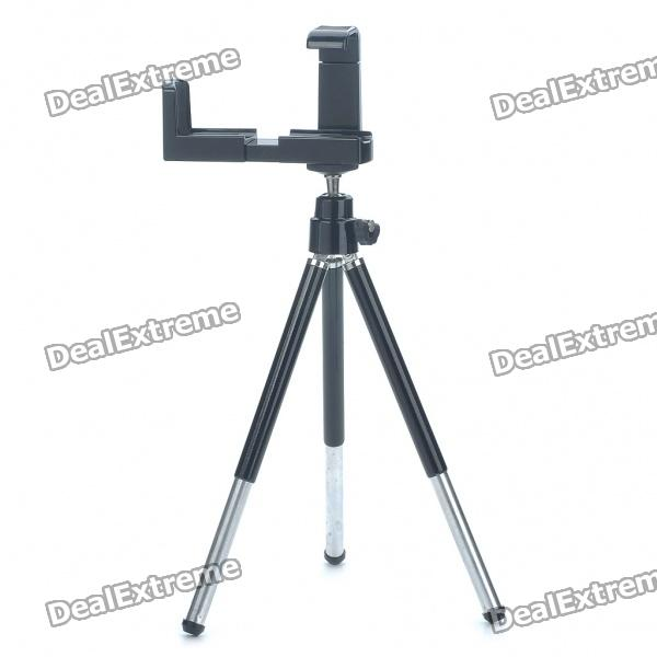 Universal Swivel Tripod Stand Holder for Cell Phone/Camera - Black bullet camera tube camera headset holder with varied size in diameter